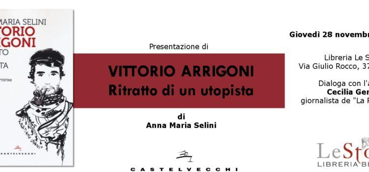 """Presentazione di """"Vittorio Arrigoni – Ritratto di un utopista"""""""